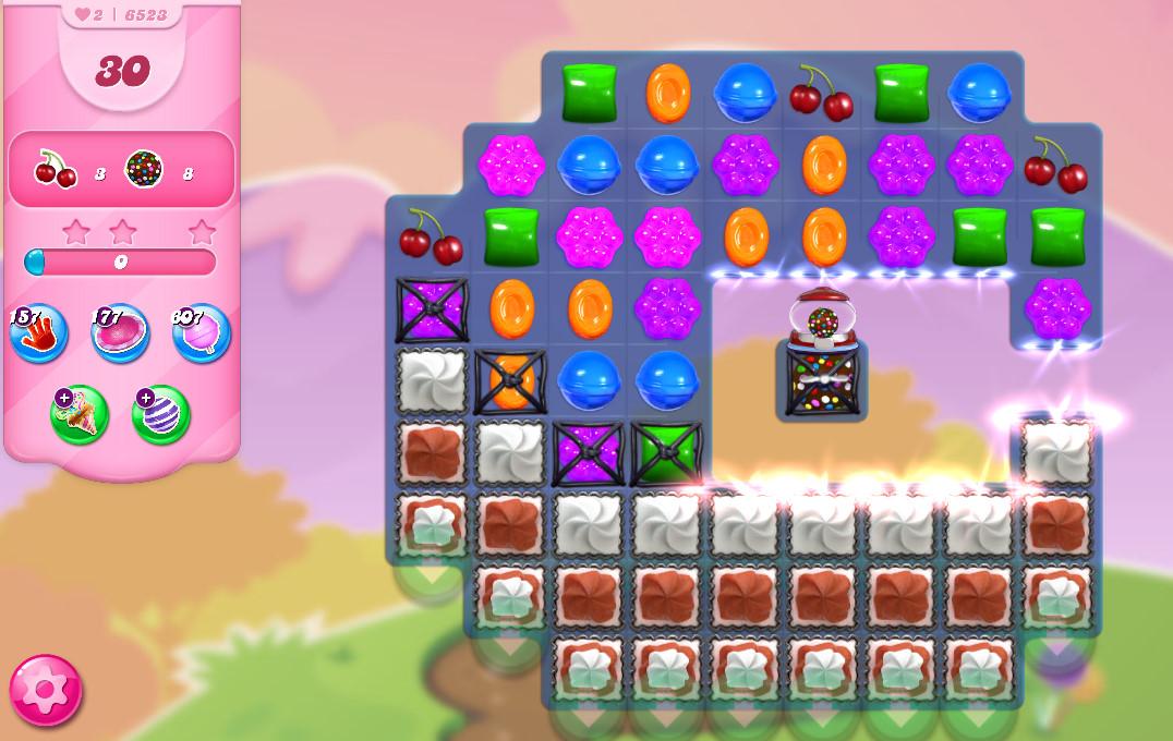 Candy Crush Saga level 6523