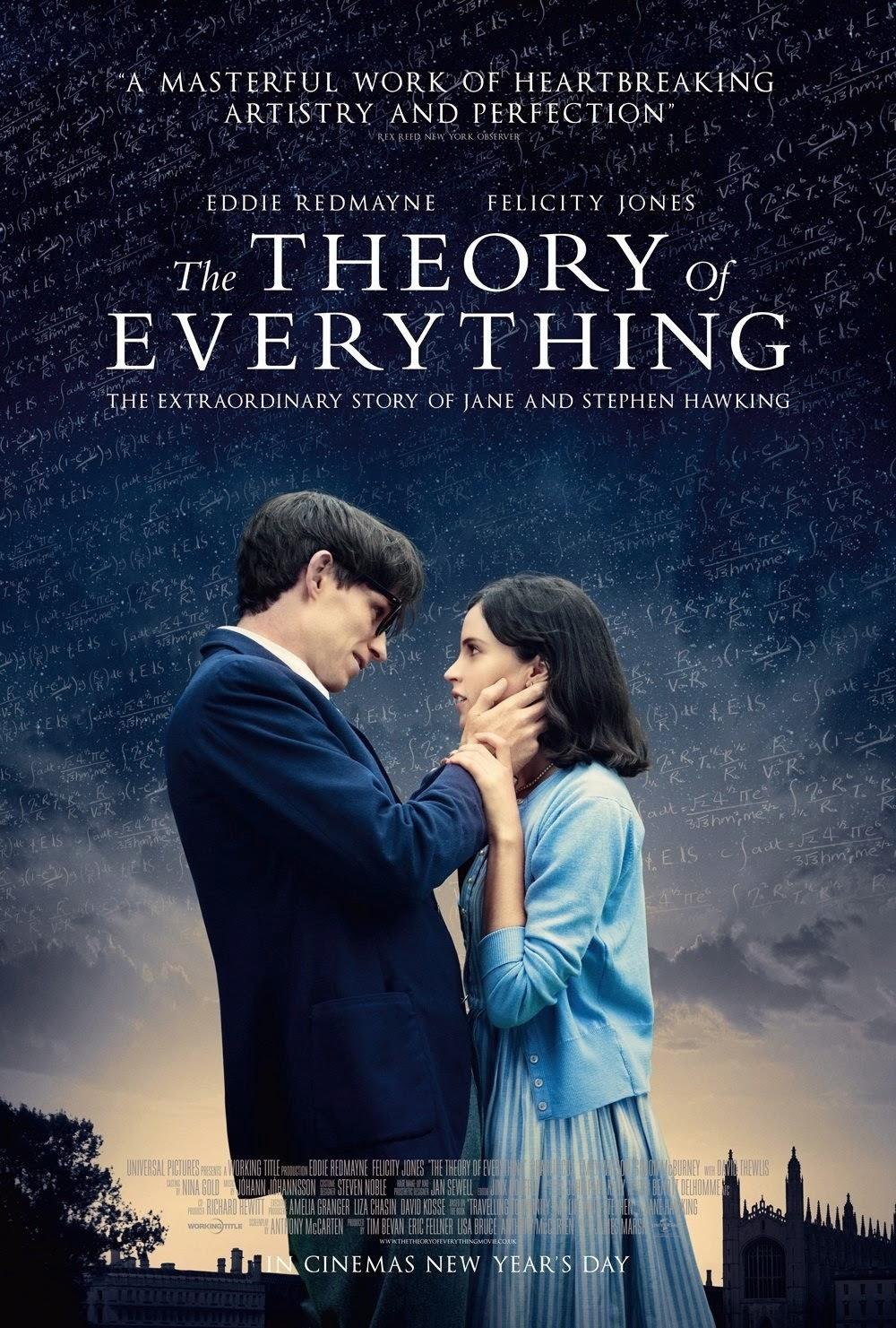 The Theory of Everything ความรักของสตีเฟน ฮอว์กิ้ง [HD]