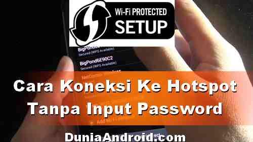 Cara Masuk Hotspot WiFi tanpa Sandi dari Android