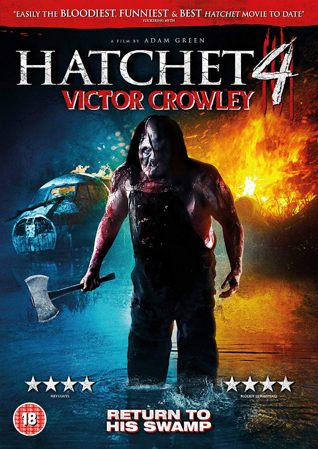 HATCHET 4: VICTOR CROWLEY dvd