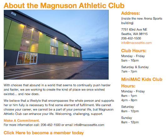Everything You Need to Know About the Magnuson Athletic Club