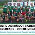 E.E. Poeta Domingos Bauer Leite sagra-se campeã da mini Olimpíadas de Miracatu 2018