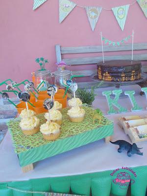 Mesa dulce dinosaurios