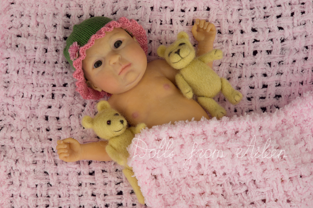 ooak anatomically correct baby girl doll
