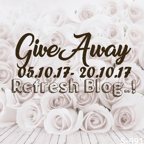 Giveaway Refresh Blog
