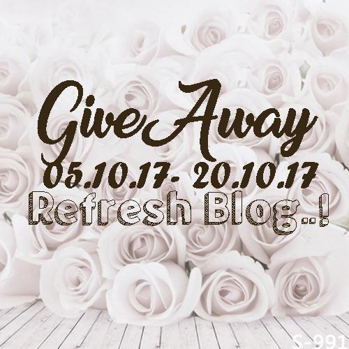 Giveaway Refresh Blog