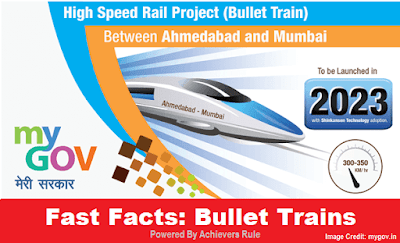 10 Points to Know About Indias First Bullet Trains