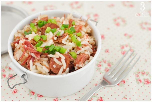 receita prática arroz carreteiro