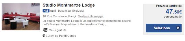 Studio Montmartre Lodge