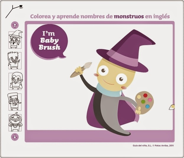 """""""Baby Brush"""" (Juego de Inglés de Infantil)"""