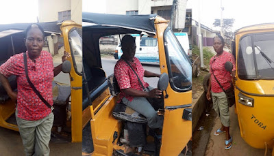 Abia Female Tricycle Operator