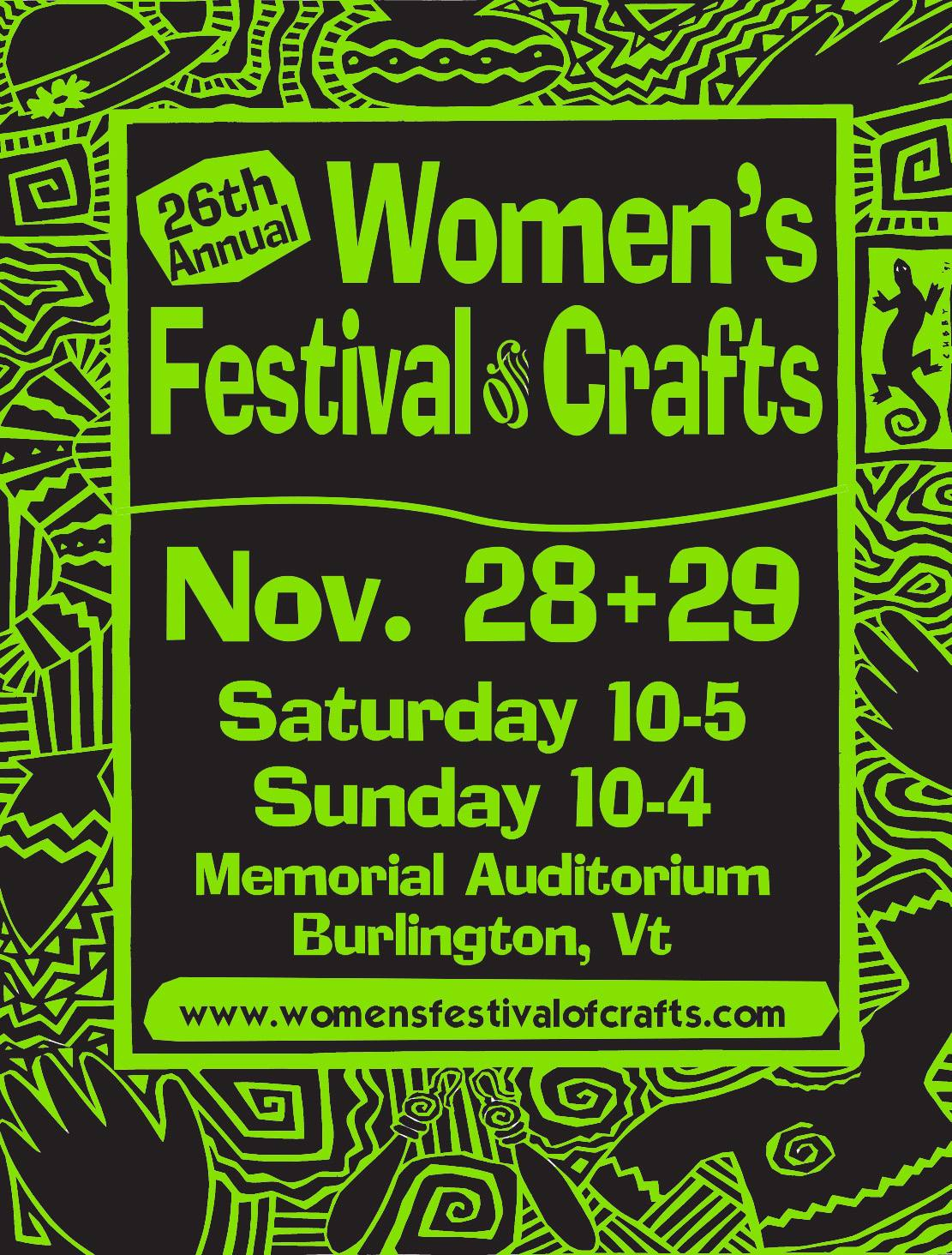 Women S Craft Festival Burlington Vt