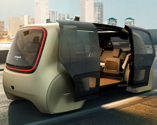www.Tinuku.com Volkswagen announced VW Sedric as design autonomous mobile lounge car at Geneva Motor Show 2017