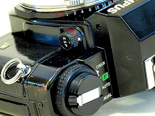 Olympus OM40, ESP selector