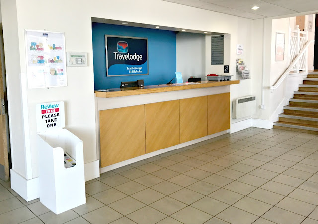 Travelodge, Scarborough, St Nicholas Hotel, Hotel Reception,