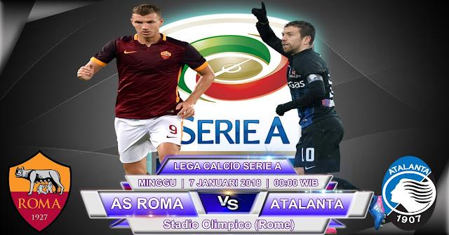BOLA 365 - Prediksi AS Roma vs Atalanta 7 Januari 2018