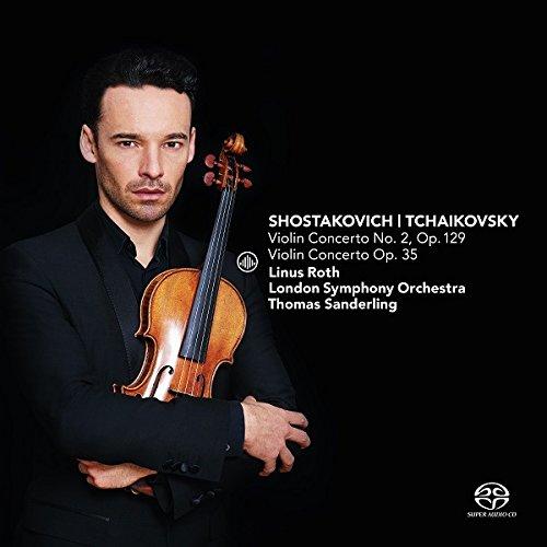 BEST CONCERTO RECORDING OF 2016: Dmitri Shostakovich & Pyotr Ilyich Tchaikovsky - VIOLIN CONCERTI (Challenge Classics CC72689)