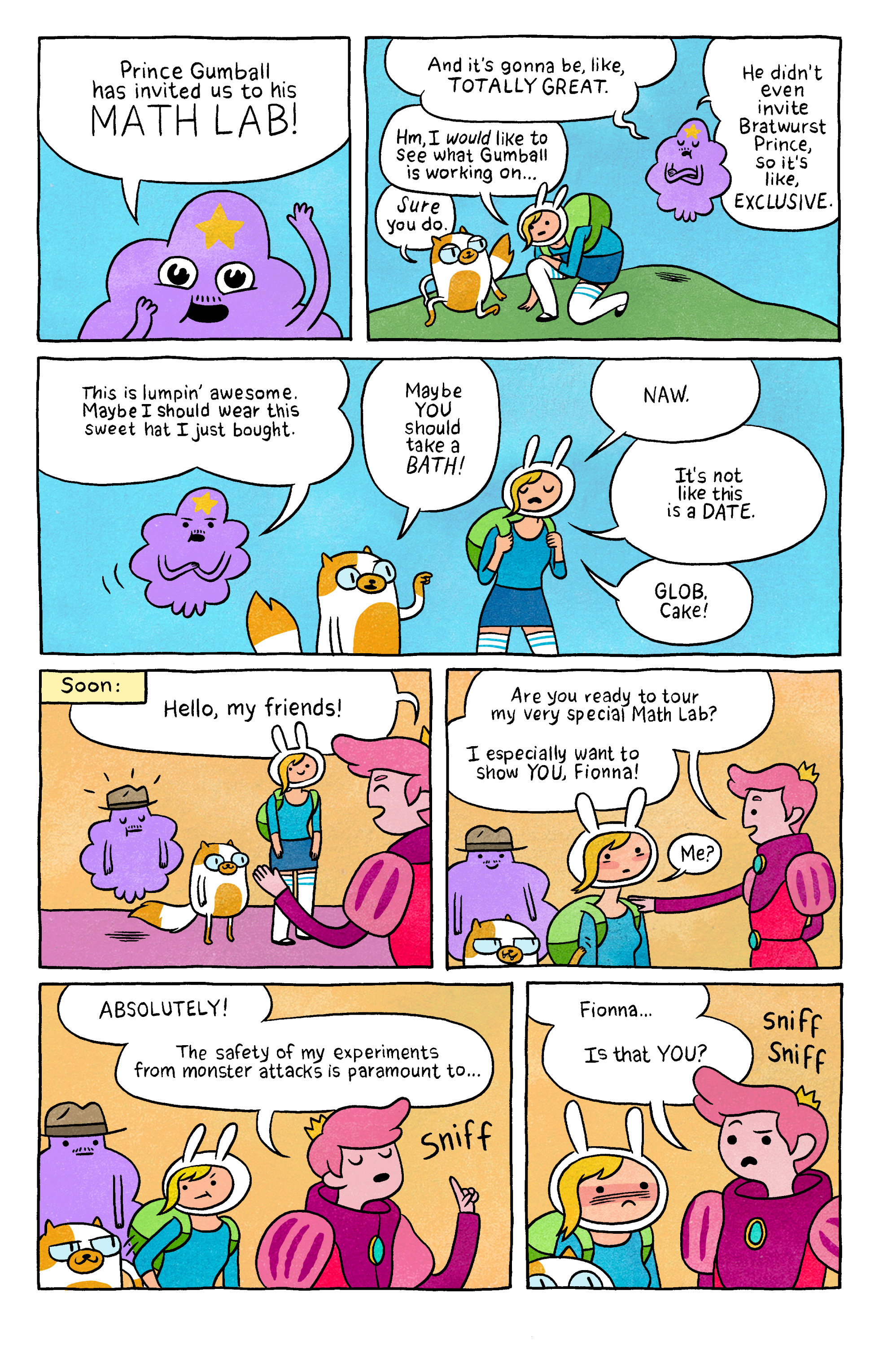 Read online Adventure Time with Fionna & Cake comic -  Issue #2 - 25