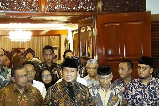 Prabowo Akan Temui Kapolri Bahas Kasus Ratna Sarumpaet