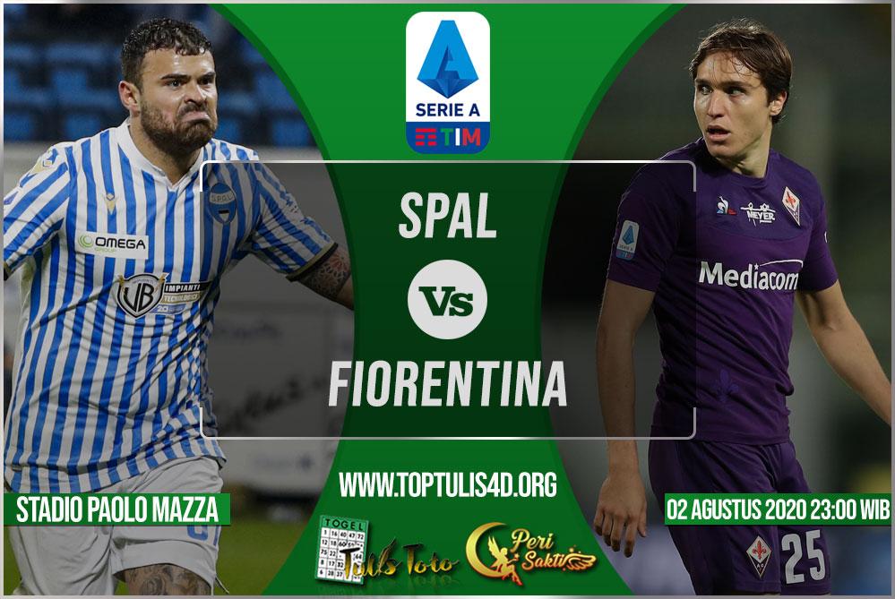 Prediksi SPAL vs Fiorentina 02 Agustus 2020