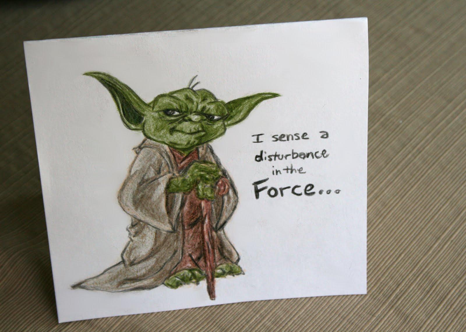 A Yoda Happy B Day