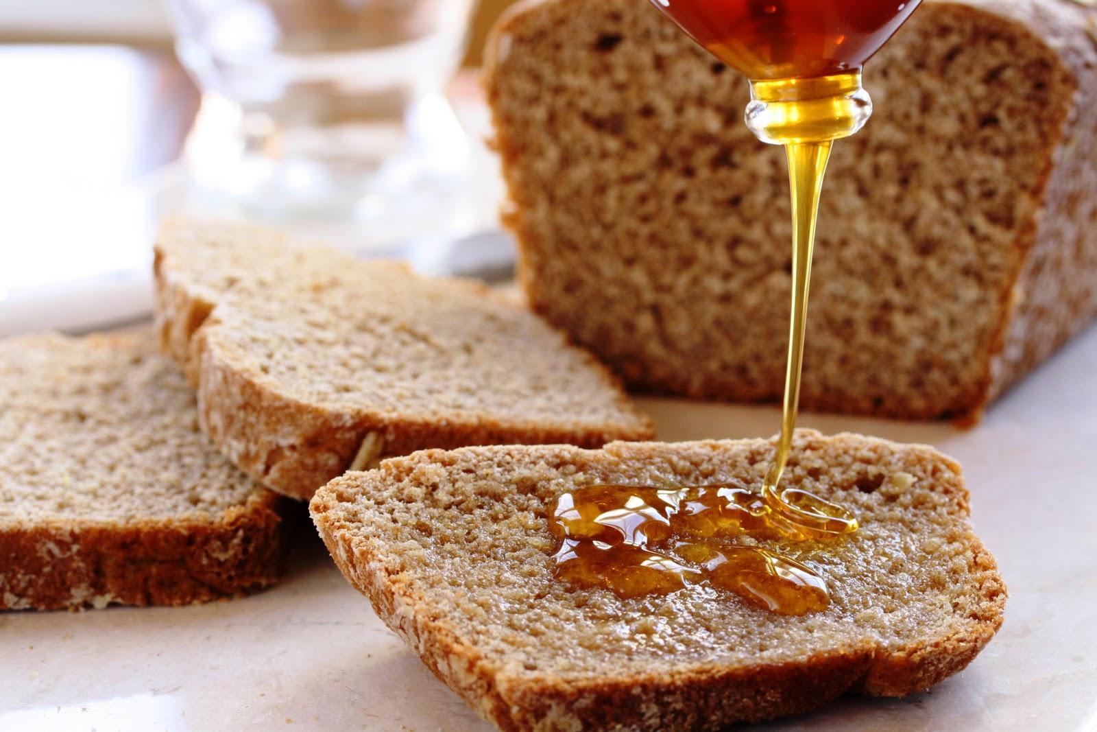 Whole Wheat Honey Oatmeal Bread Saving Room for Dessert