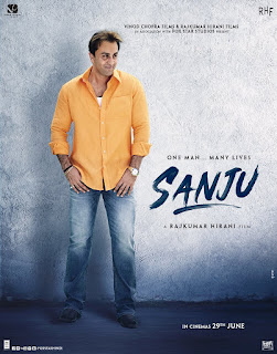 poster of sanju movie