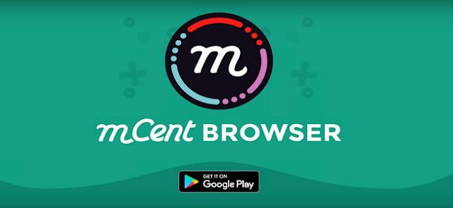 mCent Browser - Cara Mendapatkan Pulsa Gratis dari Aplikasi mCent Browser