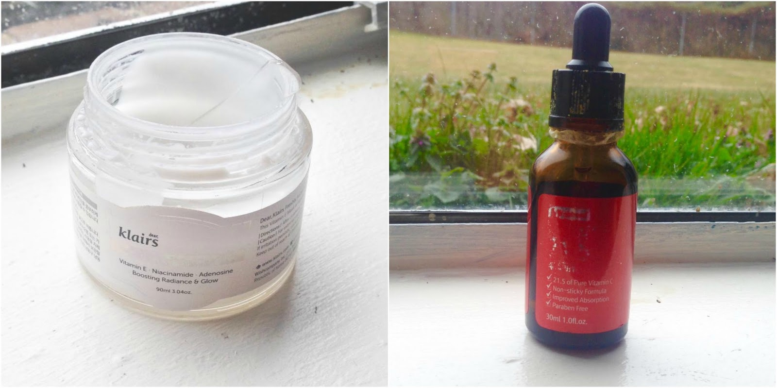 ab222a0b04 I was asked to pick two products and I settled on the By Wishtrend Pure  Vitamin C 21.5% Advanced Serum* (a mouthful, eh?) and the Klairs Freshly  Juiced ...
