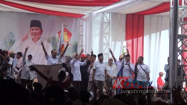 Prabowo Bersafari Politik Di Nganjuk