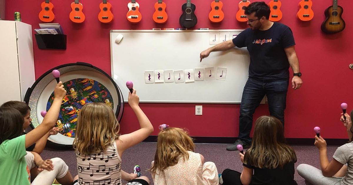 các phương pháp dạy học âm nhạc mầm non
