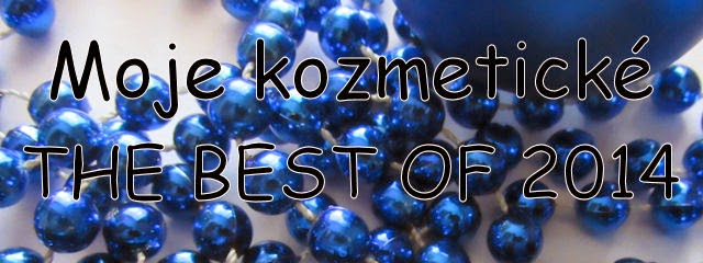 Moje kozmetické The Best Of 2014