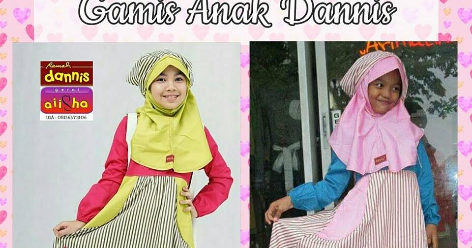 Rumah Dannis Semarang Baju Muslim Anak Perempuan Dannis