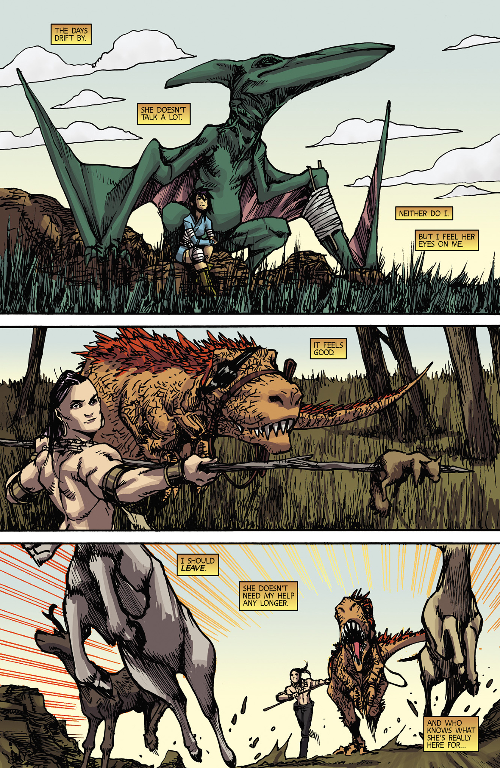 Read online Turok: Dinosaur Hunter (2014) comic -  Issue #5 - 16