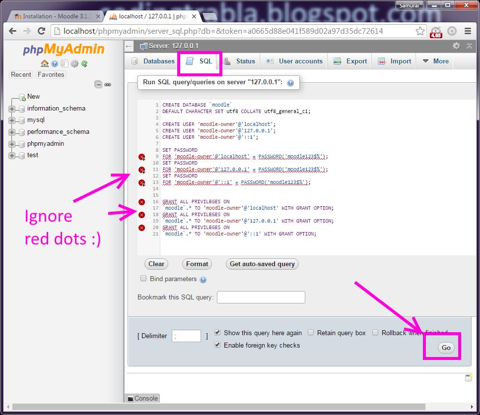 codingtrabla: Install Moodle 3.1.1+ eLearning on Windows ...