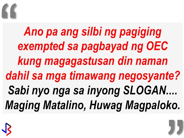 """A shop near DFA Regional Office in Pampanga has ventured into a new """"business"""", charging OFWs who want to make """"balik manggagawa"""" online appointment or print their OEC. A facebook user who is a fellow OFW posted about the abusive practice of some shops near DFA offices, taking advantage of the OFWs especially those who are not adept in using computers and not well-versed in internet navigation. He is trying to call on the attention of POEA Ortigas to act by providing a small place with a computer and a personnel to assist OFWs to avoid being victimized by some greedy business people. The impression of other people about OFWs are people with lots of money but they should understand that not all OFWs are rich, most of the OFWs especially the Household Service Workers has only enough salary for their day-to-day expenditures. POEA must do something to address this issue. By doing it, they can help thousands of OFWs and families by preventing them from falling victim to the scammers around."""