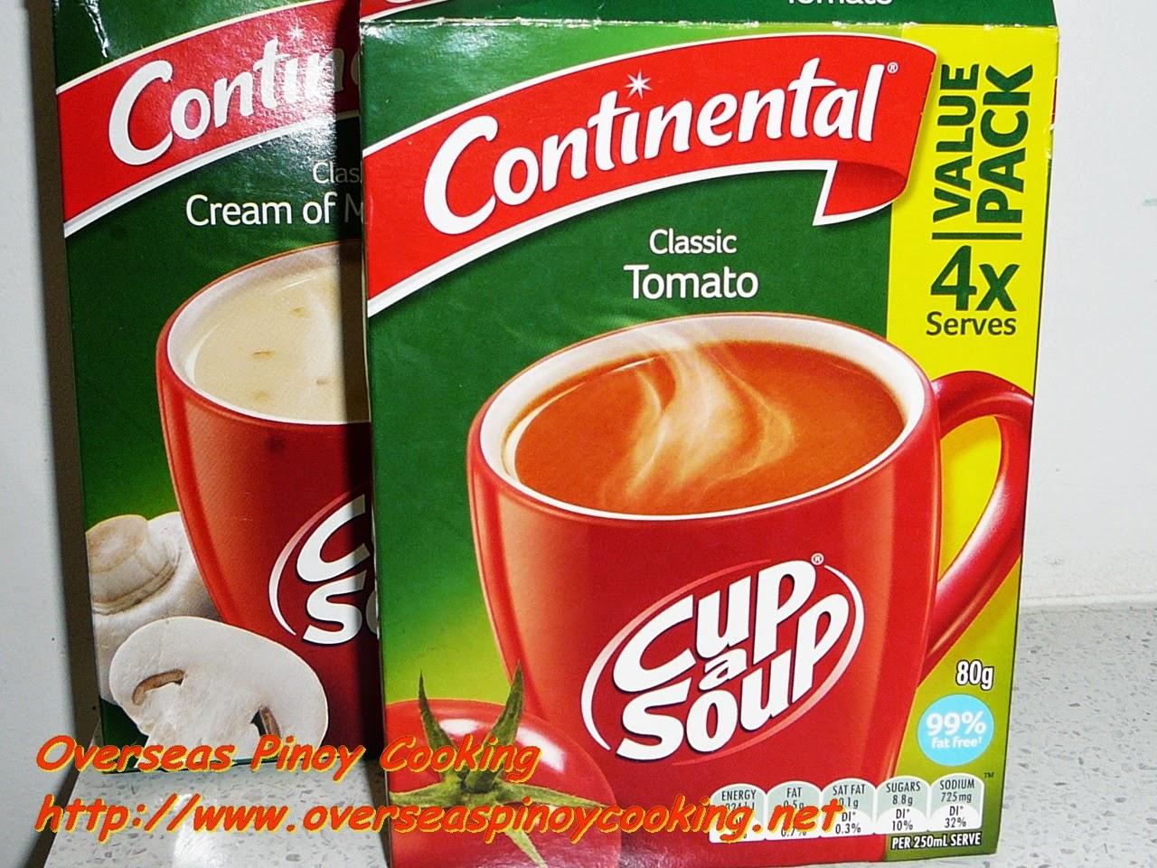 Instant Tomato Soup Mix