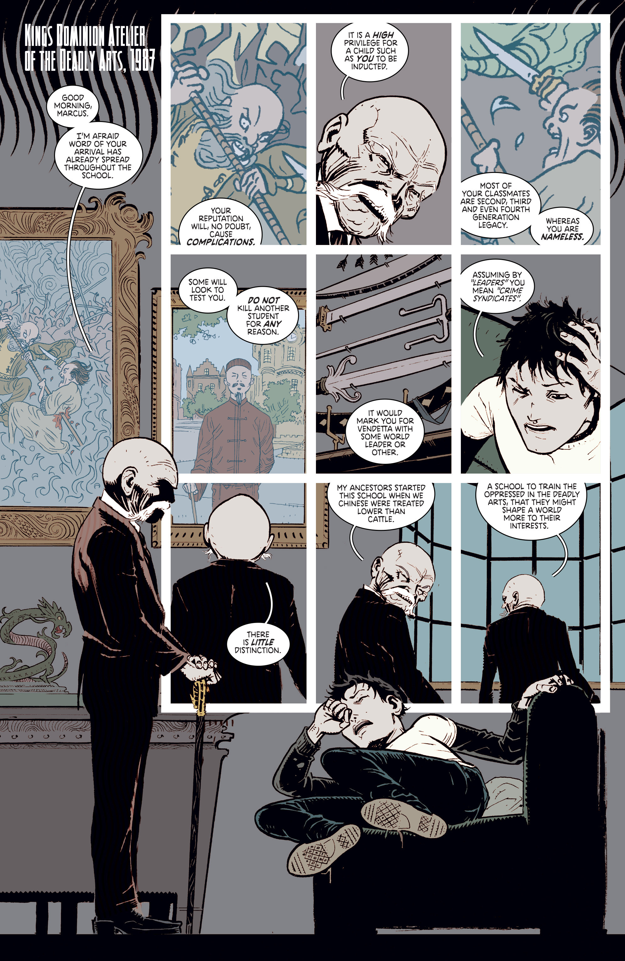 Read online Deadly Class comic -  Issue #2 - 4