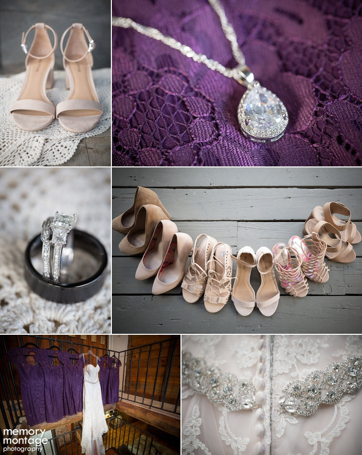 purple and grey wedding at american homestead in naches WA