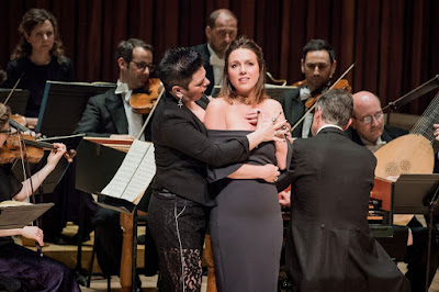 Sonia Prina, Mary Bevan, Harry Bicket & English Concert - Handel: Ariodante - Barbican (Photo Robert Workman for the Barbican)