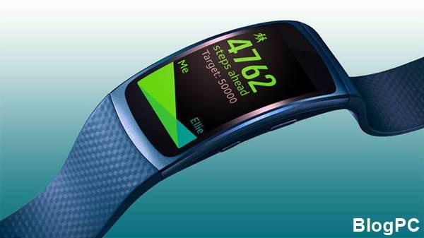 Gear Fit 2: o aparelho tem tela curva e GPS integrado