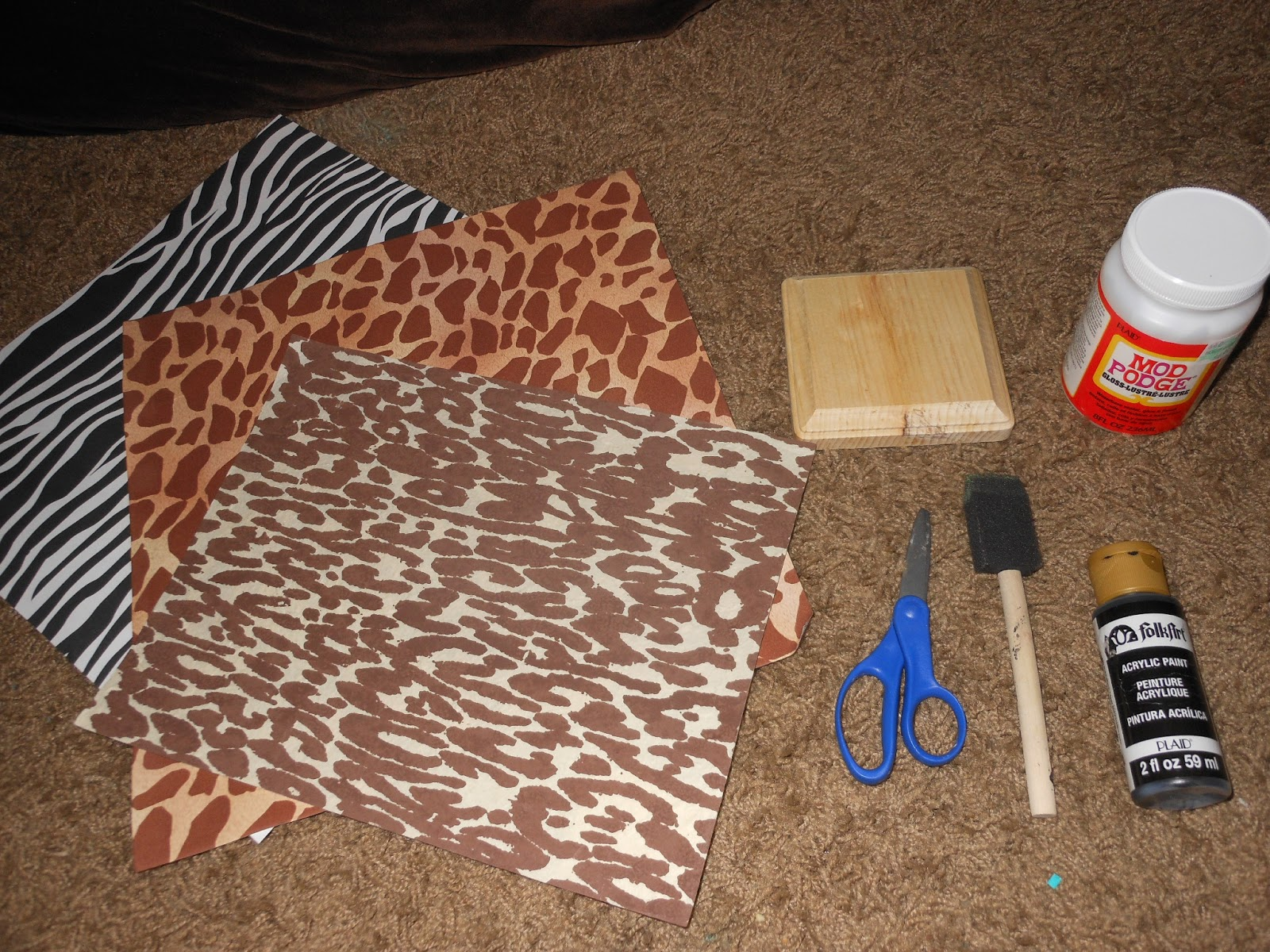 Et Ce Que Crafts Simple Diy Wall Decor African Style