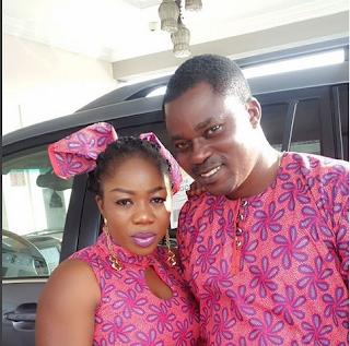 Eniola Afeez celebrates wife