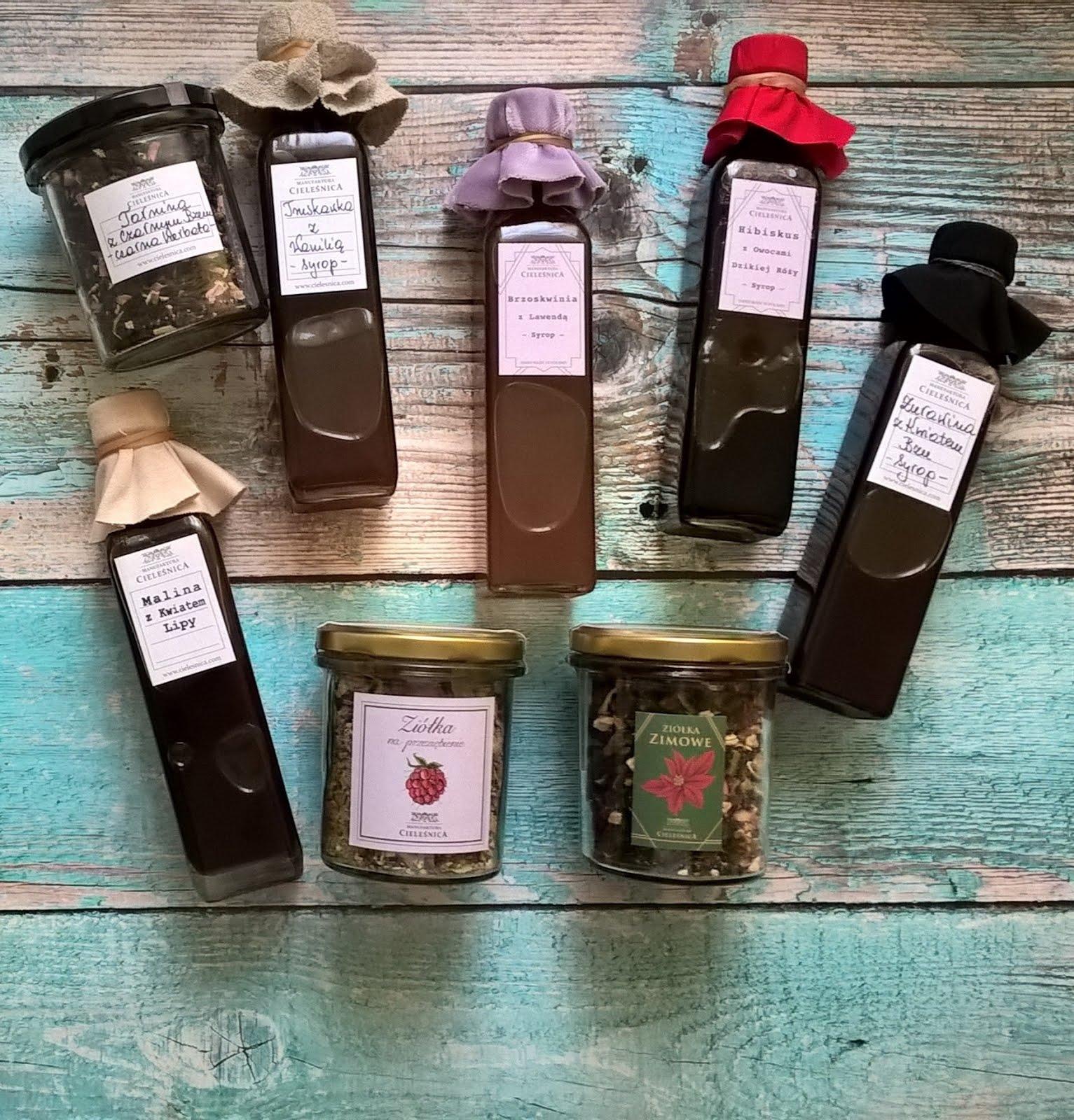 Manufaktura Cieleśnica blog opinie soki, herbaty