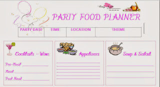 Reduce your stress during the holidays with these free Party Planning Tools - Easy Life Meal & Party Planning