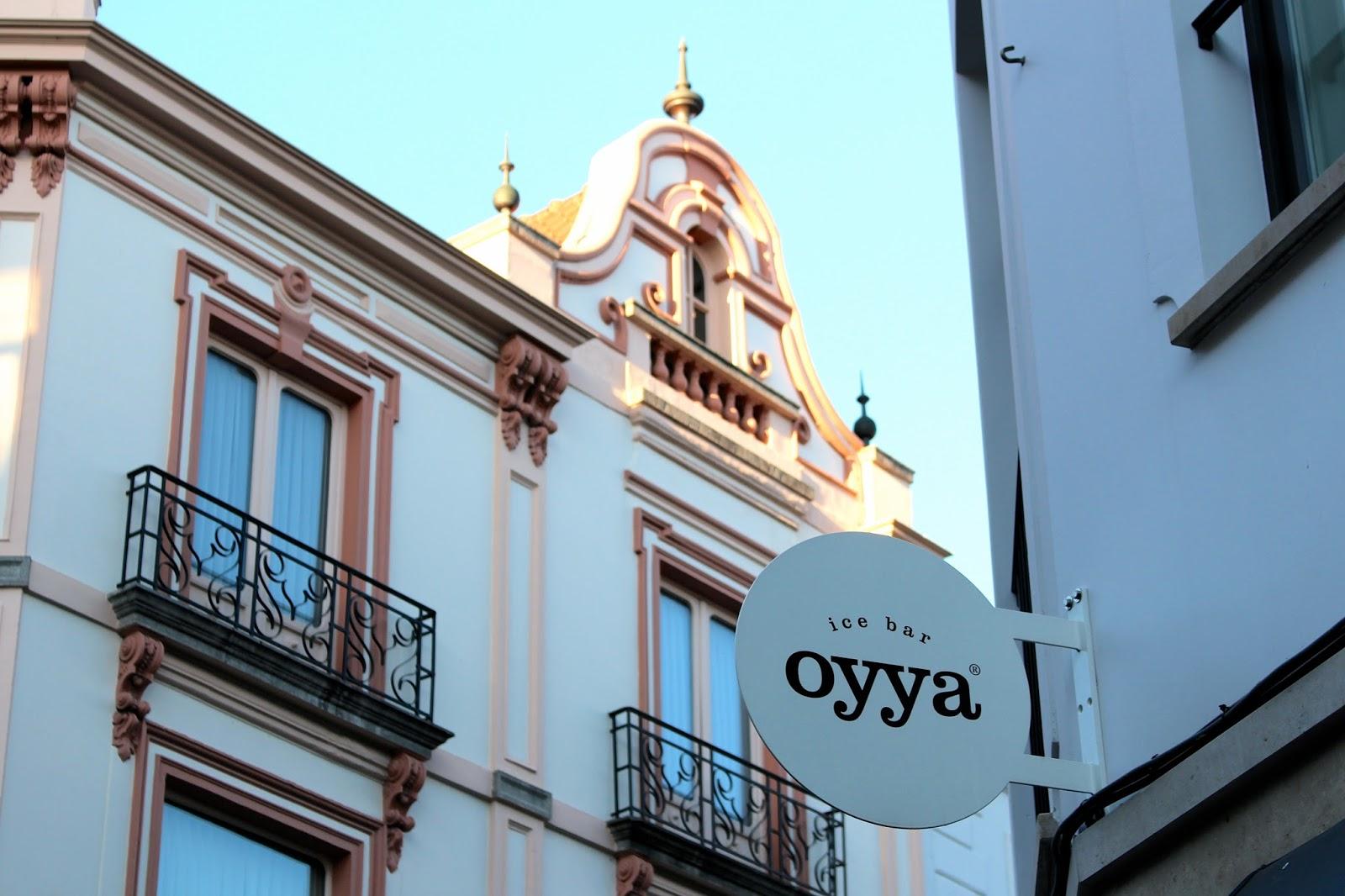 Oyya ice cream bruges belgium travel blog review