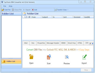 SysTools DBX to PST Converter 4.3.0 Full Patch
