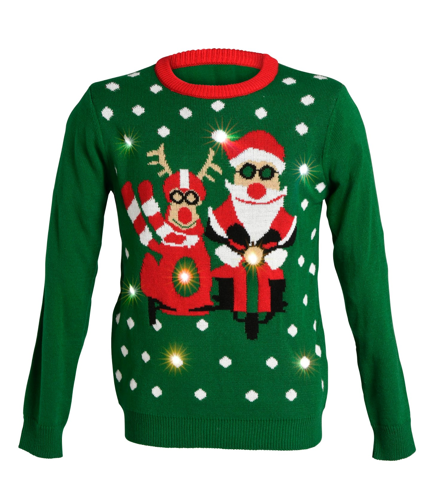 Omtalade Fias Jul - Let it snow: Jultröjor med LED NW-46