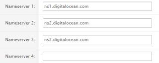 Name server digital ocean