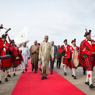 President Buhari Returns, Speaks On His Health, See Photos